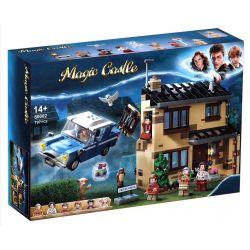 BLANK 80002 TANK 11571 Xếp hình kiểu Lego HARRY POTTER 4 Privet Drive Harry Potter No. 4 And Flight Car 4 ổ đĩa 797 khối