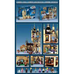 BLANK 7186 80004 TANK 11573 Xếp hình kiểu Lego HARRY POTTER Hogwarts Astronomy Tower Harry Potter Hogworth Astronomical Tower Tháp Thiên Văn Hogwarts 971 khối