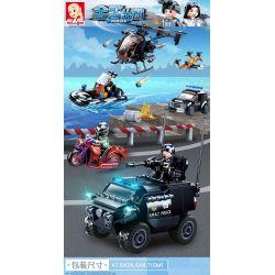 SLUBAN M38-B0809 B0809 0809 M38B0809 38-B0809 Xếp hình kiểu Lego Police Special Warfare Các Lực Lượng đặc Biệt 469 khối