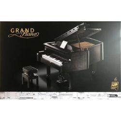 BLANK 79007 LEBO 10285 10285B Xếp hình kiểu Lego IDEAS 123 Sesame Street Piano Đường Sesame 3662 khối
