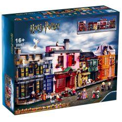 BLANK 20007 70071 Xếp hình kiểu Lego HARRY POTTER Diagon Alley Harry Potter Dika Lane Lôi đi Cheo 5544 khối