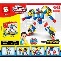 SHENG YUAN SY 9005 Xếp hình kiểu Lego TRANSFORMERS Hello Carbot Fron Coffee God Danafong Vũ điệu Nóng Bỏng 361 khối