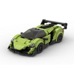 ACHKO 50013 CHAOBAO RENREN 7023 REBRICKABLE MOC-40655 40655 MOC40655 Xếp hình kiểu Lego SPEED CHAMPIONS Fast&Car Lamborghini Poison Lamborghini độc 288 khối