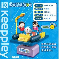 KEEPPLEY K20401 20401 Xếp hình kiểu Mini Blocks Doraemon Time Machine Cỗ Máy Thời Gian 155 khối