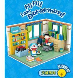 KEEPPLEY K20402 20402 Xếp hình kiểu Mini Blocks Doraemon Daxiong Room Phòng Nobita 340 khối