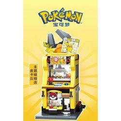 KEEPPLEY K20209 20209 Xếp hình kiểu Mini Blocks POKÉMON Pokemon Treasure Dream Piku Theme Doll Store Cửa Hàng Búp Bê Theo Chủ đề Pikachu