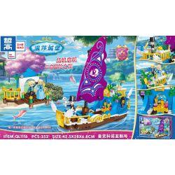 ZHEGAO QL1116 1116 Xếp hình kiểu Lego Windsor Castle Royal Konoas Konoas Hoàng Gia 353 khối