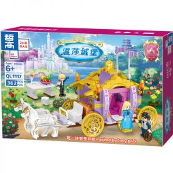 ZHEGAO QL1117 1117 Xếp hình kiểu Lego Windsor Castle Rheintes Royal Carriage 362 khối
