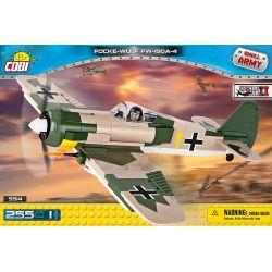 """COBI 5514 Xếp hình kiểu Lego MILITARY ARMY Focke-Wulf Fw 190 A-4 Fokker Wolf Fw 190 """"Mockingbird"""" Fokker Wolf Fw 190 """"Con Chim Nhại"""" 255 khối"""