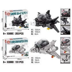 SHENG YUAN SY 0300A 0300B 0300C 0300D Xếp hình kiểu Lego MILITARY ARMY Survival Warfare Survival War Fighters 4 A10 Pig Ground Attack Aircraft, F18 Hornet Attack Fighter, SU47 Golden Eagle Fighter, EF