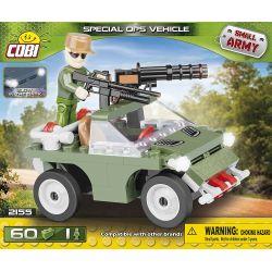 COBI 2155 Xếp hình kiểu Lego MILITARY ARMY Specjal OPS Vehicle Special Operations Vehicle Xe Hoạt động đặc Biệt 60 khối