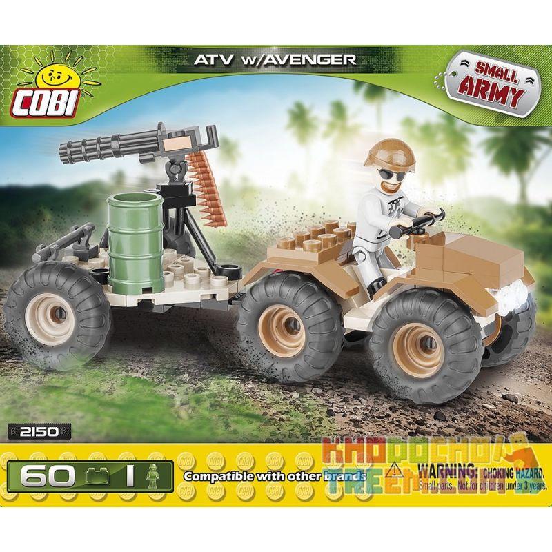 COBI 2150 Xếp hình kiểu Lego MILITARY ARMY ATV W Avanger All-Top Museum W Avengers Bảo Tàng All-TOP W Avengers 60 khối