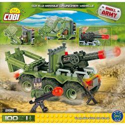 COBI 2196 Xếp hình kiểu Lego MILITARY ARMY G21 6x2 Missile Launcher Vehicle Bệ Phóng Tên Lửa G21 6x2 100 khối