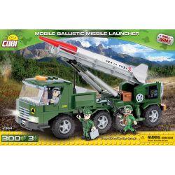 COBI 2364 Xếp hình kiểu Lego MILITARY ARMY Mobile Ballistic Missile Launcher Mobile Ballistic Missile Launch Vehicle Xe Phóng Tên Lửa đạn đạo Di động 300 khối