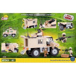 COBI 2361 Xếp hình kiểu Lego MILITARY ARMY Armoured Command Vehicle Armored Command Vehicle Xe Chỉ Huy Bọc Thép 250 khối