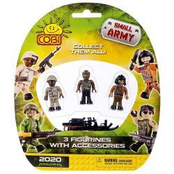 COBI 2020 Xếp hình kiểu Lego MILITARY ARMY 3 Figurines & Accessories 3 Minifigures And Accessories 3 Nhân Vật Nhỏ Và Phụ Kiện