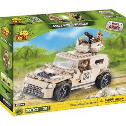 COBI 2328 Xếp hình kiểu Lego MILITARY ARMY Military Vehicle Xe Quân Sự 200 khối