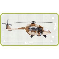COBI 2329 Xếp hình kiểu Lego MILITARY ARMY Desert Helicopter Trực Thăng Sa Mạc 200 khối