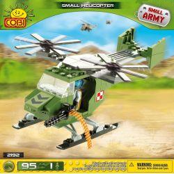 COBI 2192 Xếp hình kiểu Lego MILITARY ARMY Small Helicopter Trực Thăng Nhỏ 95 khối