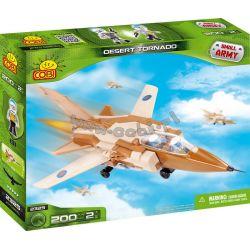 COBI 2325 Xếp hình kiểu Lego MILITARY ARMY Desert Tornado Fighter Lốc Xoáy Sa Mạc 200 khối