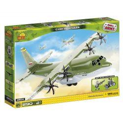 COBI 2604 Xếp hình kiểu Lego MILITARY ARMY Hercules C-130 Hercules Transport Aircraft C-130 Máy Bay Vận Tải Hercules C-130 290 khối