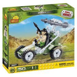 COBI 2127 Xếp hình kiểu Lego MILITARY ARMY Buggy SUV 50 khối