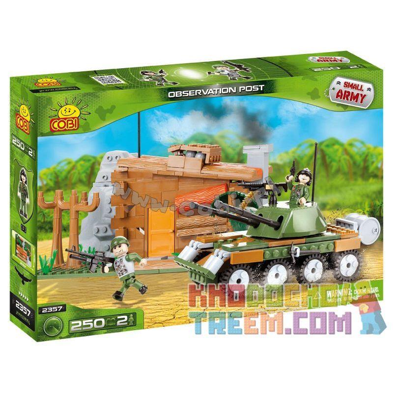 COBI 2357 Xếp hình kiểu Lego MILITARY ARMY Observation Post Bài Quan Sát 250 khối