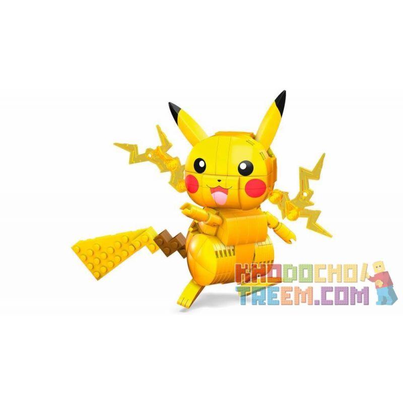 MEGA BLOKS GMD31 Xếp hình kiểu Lego Pikachu 211 khối