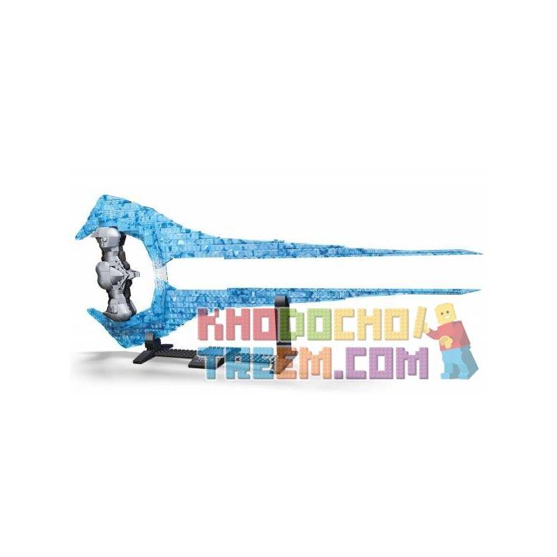MEGA BLOKS GPB05 Xếp hình kiểu Lego Energy Sword Thanh Kiếm Năng Lượng 567 khối