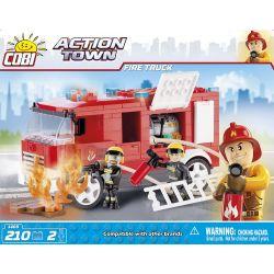 COBI 1469 Xếp hình kiểu Lego CITY Fire Truck Xe Cứu Hỏa 210 khối