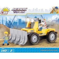 COBI 1669 Xếp hình kiểu Lego MILITARY ARMY Light Bulldozer Máy ủi Nhẹ 140 khối