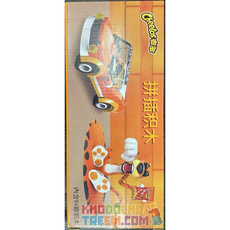CHEETOS JT0101 0101 Xếp hình kiểu Lego CITY Spelling Chính Tả 94 khối