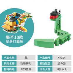 CAYI KY006 KY007 KY008 KY009 KY010 KY011 KY013 KY014 KY015 KY016 Xếp hình kiểu Lego Cute Animals Build 10 Animals Lantern Fish Động Vật Dễ Thương Xây Dựng 10 động Vật Cá đèn Lồng gồm 10 hộp nhỏ 243 kh