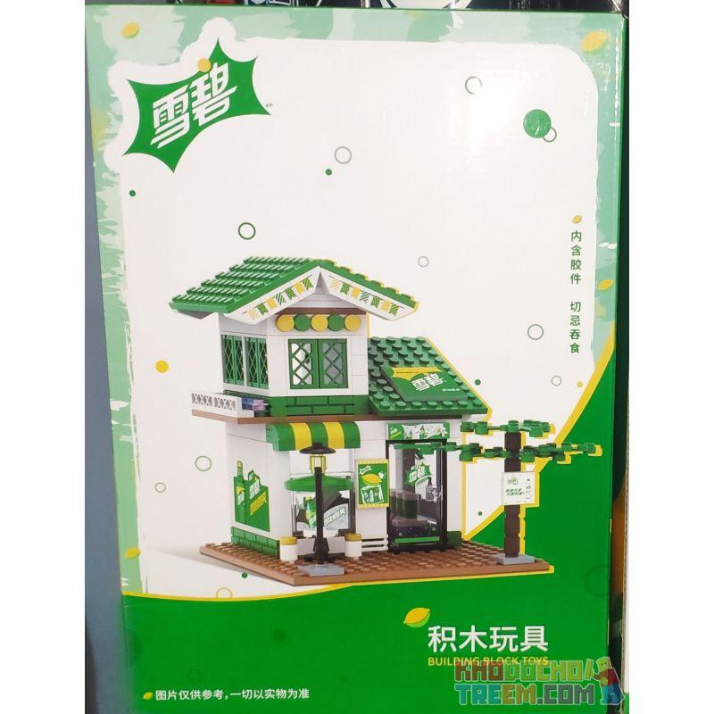 COCA-COLA GGSY2296713505B 2296713505B Xếp hình kiểu Lego CITY BUILDING BLOCK TOYS đồ Chơi