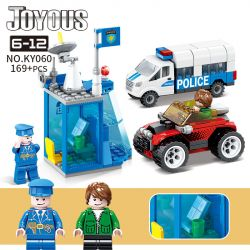 Kazi KY060 Xếp hình kiểu Lego POLICE Joyous Chiffon Ky060. 169 khối