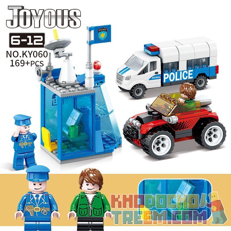 Kazi KY060 Xếp hình kiểu Lego Joyous Wisdom Police KY060 169 khối