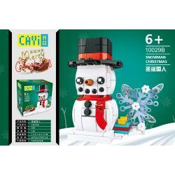 CAYI 10029B Xếp hình kiểu Lego SEASONAL Snowman Christmas Merry Christmas Christmas Snowman Người Tuyết Giáng Sinh 185 khối