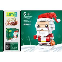 CAYI 10029D Xếp hình kiểu Lego SEASONAL ELK Christmas Merry Christmas Santa Claus Ông Già Noen 185 khối