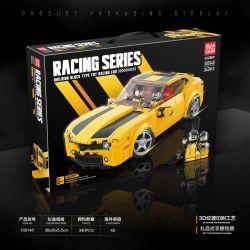 QUANGUAN QUAN GUAN 100146 Xếp hình kiểu Lego Racing Chevrolet Camaro Famous Car 340 khối