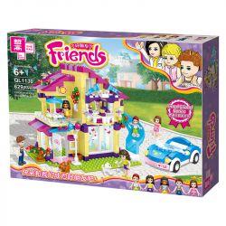 ZHEGAO QL1130 1130 Xếp hình kiểu Lego FRIENDS Good Friend Talia's Pet Leisure House 629 khối