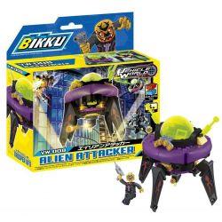 BIKKU VW-008 Xếp hình kiểu Lego Alien Attacker Kẻ Tấn Công Người Ngoài Hành Tinh 152 khối