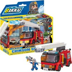 BIKKU VW-010 Xếp hình kiểu Lego CRIMSON SAVER Crimson Savior Cứu Tinh Màu đỏ Thẫm 160 khối