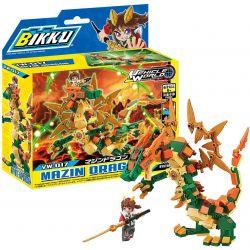 BIKKU VW-017 Xếp hình kiểu Lego MAZIN Dragon Rồng MAZIN 168 khối