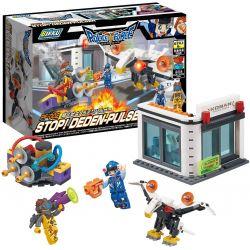 BIKKU PF-002 Xếp hình kiểu Lego STOP! DEDEN-PULSER Block DEDEN Pulse Transmitter Khối Phát Xung DEDEN 215 khối