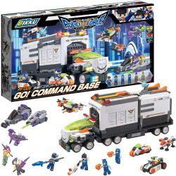 BIKKU PF-006 Xếp hình kiểu Lego GO! COMMAND BASE Get Out! Command Base Cút Ra! Cơ Sở Chỉ Huy 1160 khối