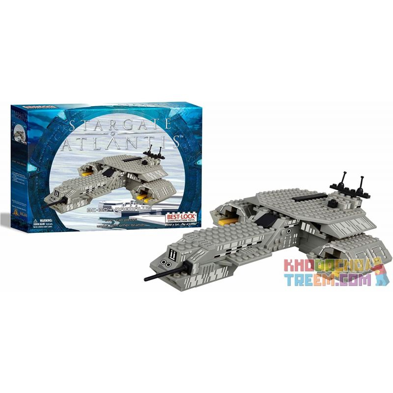 BEST-LOCK 01114S Xếp hình kiểu Lego STAR WARS Stargate Atlantis BC-304 Daedalus Stargate Atlantis 230 khối