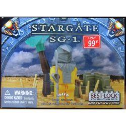 BEST-LOCK 01090S Xếp hình kiểu Lego STAR WARS Stargate SG-1 Jaffa Star Door SG-1 Jaffa.