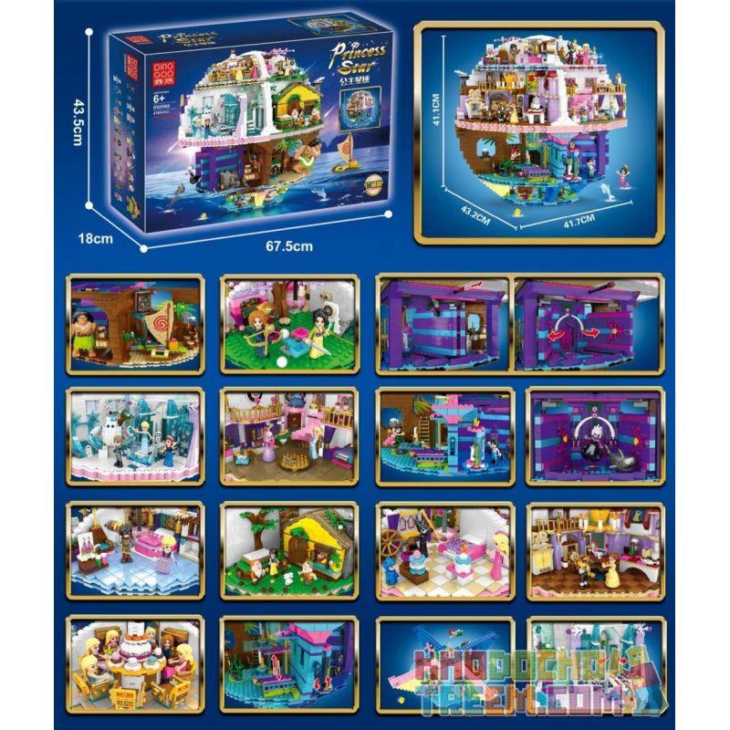 DINGGAO DG6566 6566 Xếp hình kiểu Lego FRIENDS The Princess Star Princess Planet Công Chúa Hành Tinh 4160 khối