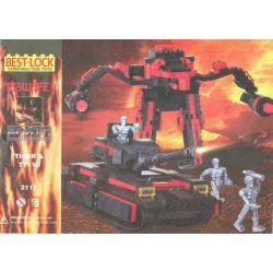 BEST-LOCK 2111 Xếp hình kiểu Lego Tiger And TT110 Tiger Và TT110 700 khối
