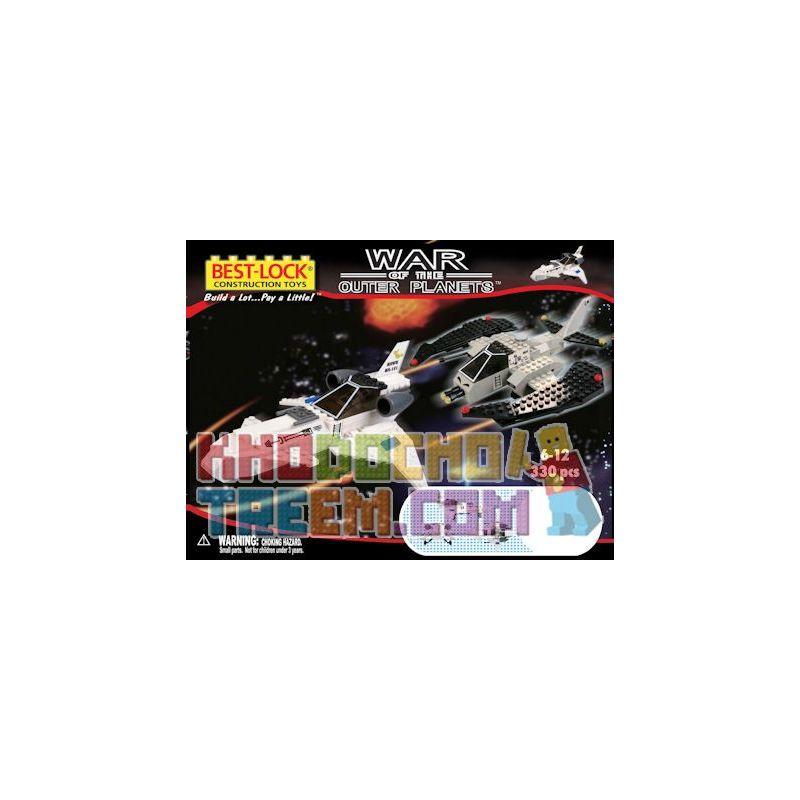 BEST-LOCK 3308 Xếp hình kiểu Lego Hawk + Raider Eagle Fighter + Raider Đại Bàng Chiến đấu + Raider 330 khối